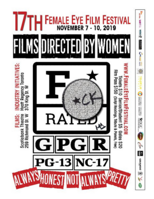Toronto's Female Eye Fest Unveils 'F-Rating' Poster and Panel