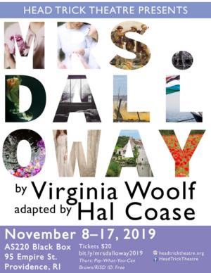 Head Trick Theatre to Present U.S. Premiere of MRS. DALLOWAY
