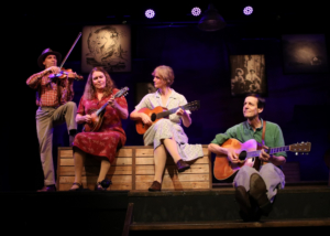 BWW Review: WOODY SEZ: THE LIFE AND MUSIC OF WOODY GUTHRIE at Ivoryton Playhouse