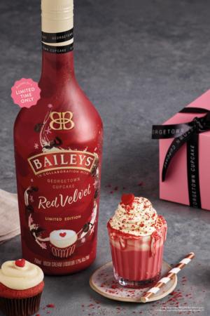 BAILEYS RED VELVET by Baileys Irish Cream Debuts in Partnership with Georgetown Cupcake