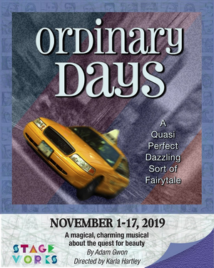 BWW Review: ORDINARY DAYS MUSICAL IS EXTRAORDINARY  at Stageworks Theatre