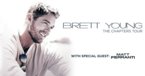 Brett Young Announces 'The Chapters Tour'