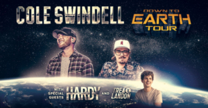 Cole Swindell Announces His Headlining 'Down To Earth Tour'