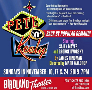 BWW Interview: Sally Mayes And George Dvorsky of THE RETURN OF PETE N KEELY at Birdland