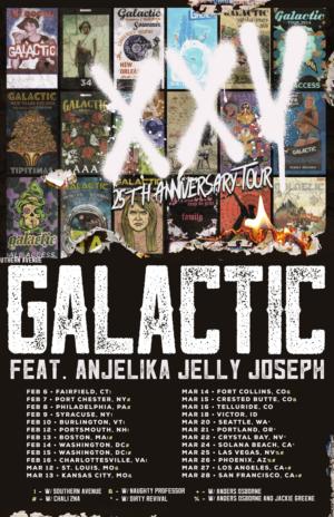 Galactic Announces 25th Anniversary Tour