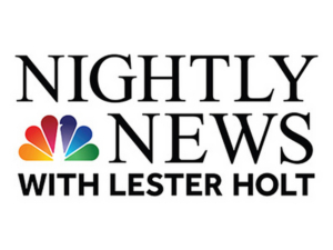 RATINGS: NBC NIGHTLY NEWS WITH LESTER HOLT is #1 Newscast