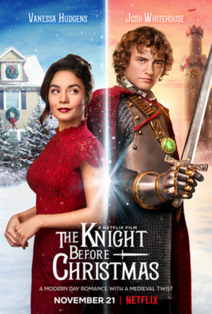 VIDEO: Vanessa Hudgens Stars in the THE KNIGHT BEFORE CHRISTMAS Trailer