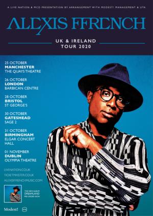 Alexis Ffrench Announces U.K. Tour