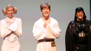 VIDEO: In The Recording Studio With A MUSICAL ABOUT STAR WARS