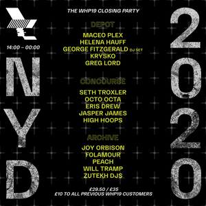The Warehouse Project Announce NYD Line Up, Featuring Maceo Plex, Helena Hauff, Seth Troxler and More!