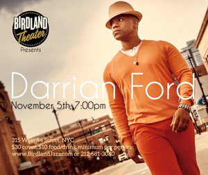 BWW Review: DARRIAN FORD Is A Joyful Entertainer At Birdland Theater