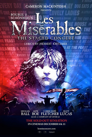 Tickets On Sale for Concert Version of LES MISERABLES in Theaters