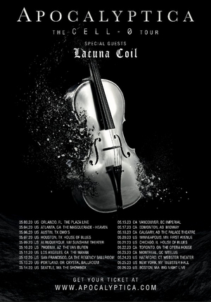 Lacuna Coil Announce North American Tour with Apocalyptica