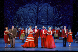 BWW Review: IRVING BERLIN'S WHITE CHRISTMAS at Des Moines Performing Arts: A Christmas Card Comes To Life On Stage