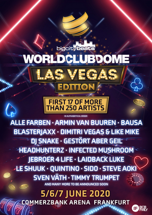 World Club Dome: Las Vegas Edition Announces First Wave of Artists