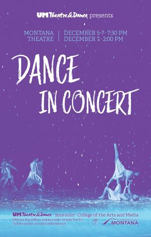 The University of Montana School of Theatre & Dance Will Present DANCE IN CONCERT