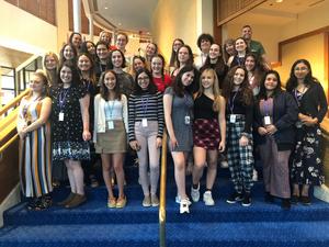 2019-2020 Teen Ambassadors Generate Buzz for the Broward Center