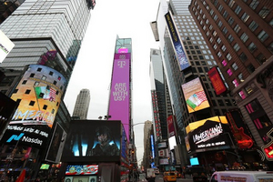 Dreamer-Inspired Musical AMERICANO! Places Billboards in Times Square