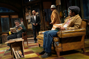 BWW Review: August Wilson's Tony Award-Winning JITNEY Examines the Effects of Gentrification on Family and Friendships in a Gypsy Cab Station