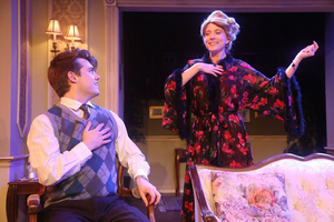 BWW Review: Romantic Farce LIVING ON LOVE Highlighted by Brilliant Writing, Direction and Operatic Performance Perfection