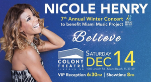 Miami's International Jazz Star Nicole Henry Celebrates Her 7th Annual Winter Concert