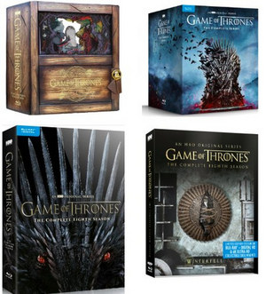 HBO to Release Season 8 of GAME OF THRONES and the Complete Series on DVD & Blu-Ray