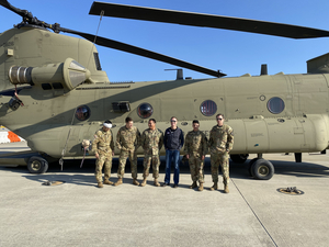 Craig Morgan Returns To Korea With The USO