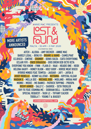 Annie Mac Presents Lost & Found Adds Richy Ahmed, Josey Rebelle, & More!