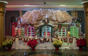DISNEYLAND, WALT DISNEY WORLD, AULANA and DISNEY CRUISE LINE have Dazzling Gingerbread Displays for the Holidays