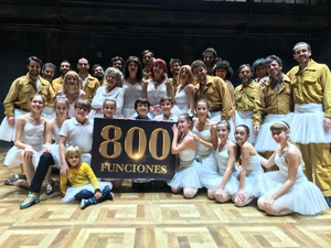 BILLY ELLIOT celebra 800 funciones en Madrid