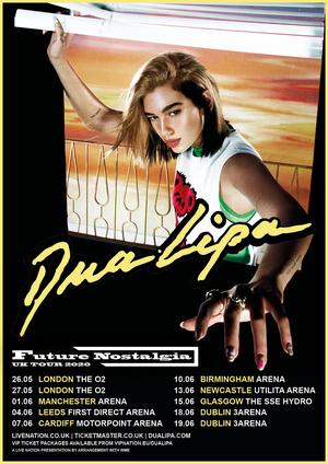 Dua Lipa Announces Album Title & 2020 European Arena Tour