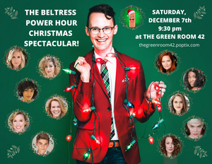 Brandi Chavonne Massey, Stephanie Gibson and More to Join THE BELTRESS POWER HOUR CHRISTMAS SPECTACULAR!