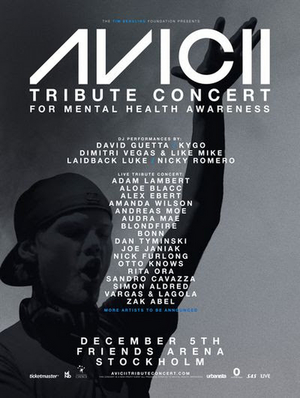 Avicii Tribute Concert to be Live Streamed