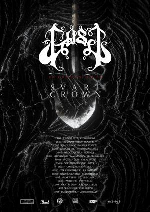 GosT Announce European Headline Tour with Svart Crown