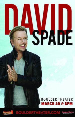 David Spade is Heading to Boulder Theater
