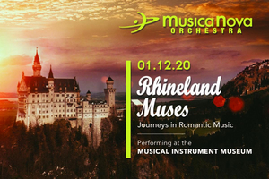 MusicaNova Orchestra to Open 2020 Season with RHINELAND MUSES: JOURNEYS IN ROMANTIC MUSIC