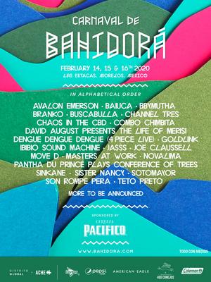 Carnaval de Bahidora Announces First Wave of Artists