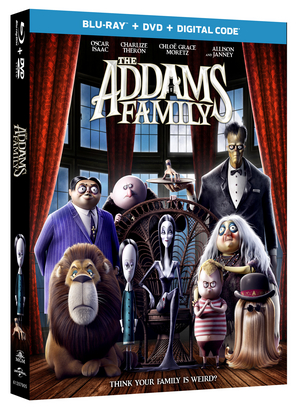 THE ADDAMS FAMILY Available on Digital 12/24 & Blu-ray and DVD 1/2