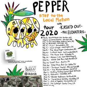 Pepper Announces Supporting Acts for 'Step to the Local Motion Tour'