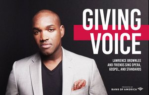 Houston Grand Opera Presents GIVING VOICE with Renowned Tenor Lawrence Brownlee