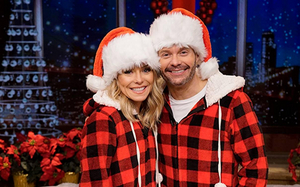 LIVE WITH KELLY AND RYAN Rings in the 2019 Holiday Season
