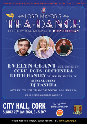 Lord Mayor's Tea Dance To Take Place at City Hall, Cork in January