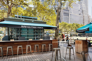 FEVER-TREE Has Partnership with Bryant Park in Midtown's Premier Public Space-Perfect for the Holiday Season