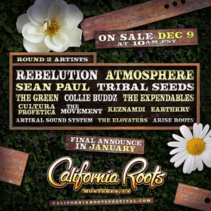 The 11th Annual California Roots Music and Arts Festival Announce Second Round Of Artists