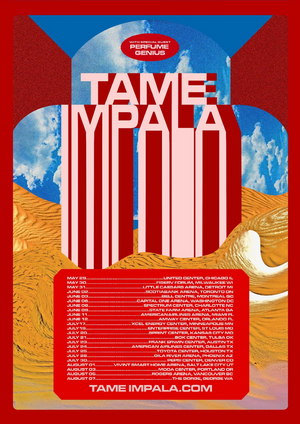 Tame Impala Announce Major North American Tour with Special Guest Perfume Genius