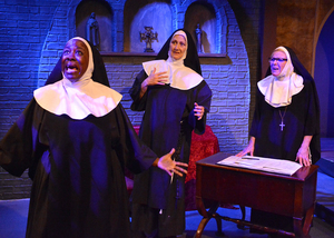 BWW Review: BAD HABITS World Premiere Comedy at Ruskin Group Theatre Takes an Irreverent Look at Dedicated Nuns Trying to Save Their Struggling Convent