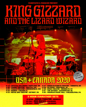 King Gizzard & The Lizard Wizard Announce 2020 North American Tour Dates