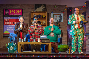 "BWW Review: Pacific Opera Project Presents A Cleverly Modern La bohème AKA ""The Hipsters"""