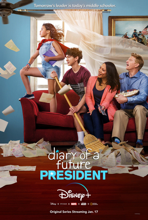 Disney+ to Premiere DIARY OF A FUTURE PRESIDENT on January 17