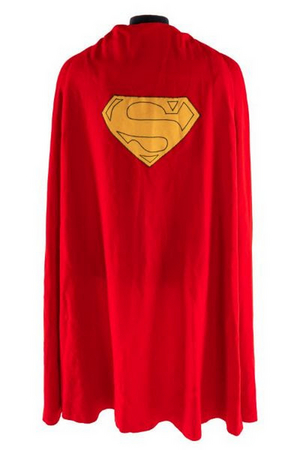 Christopher Reeve's Superman Cape Sold for $193,750 at Julien's Auctions